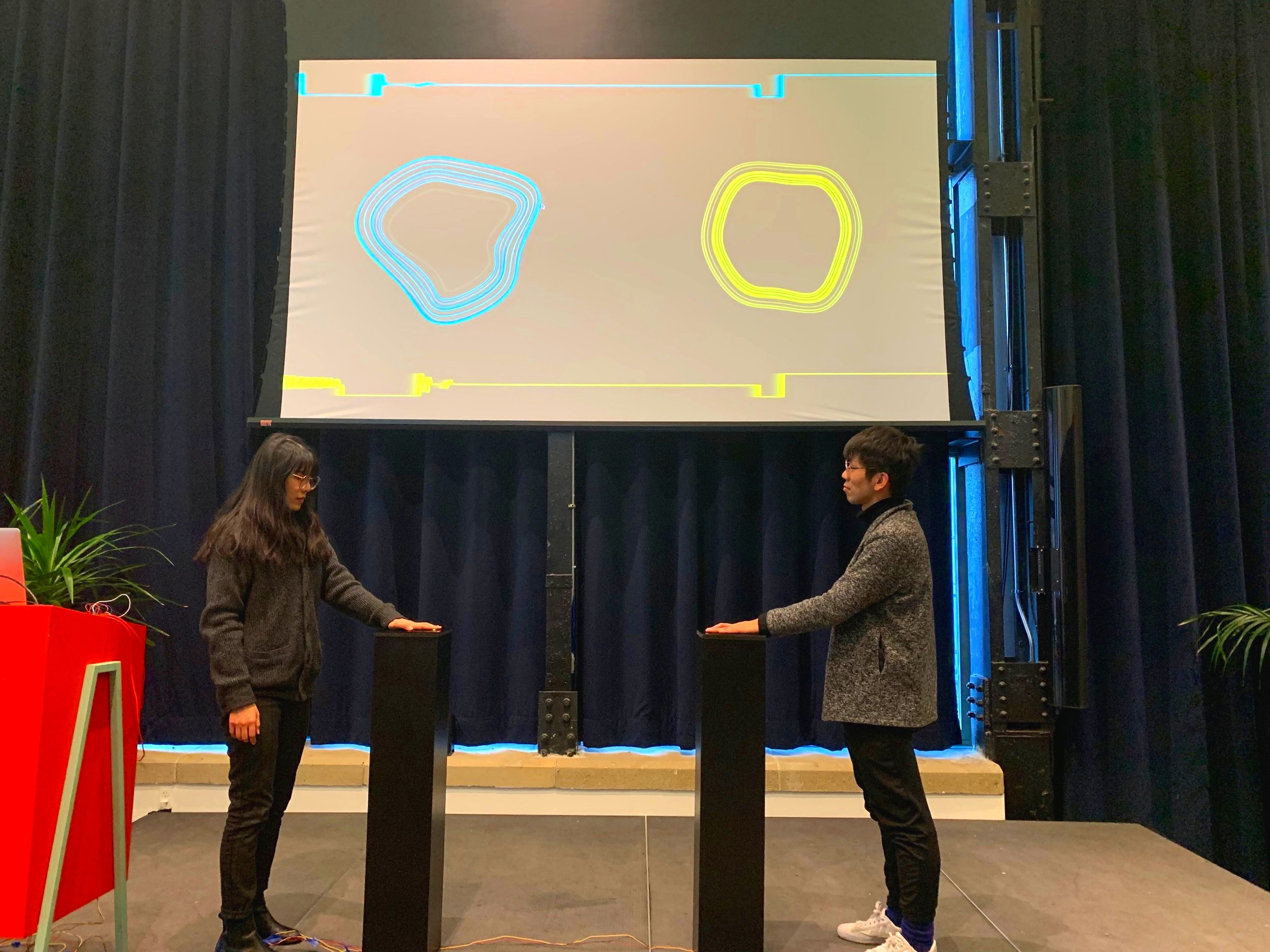 The final project of physical computing ft. code literacy was presented at New Lab