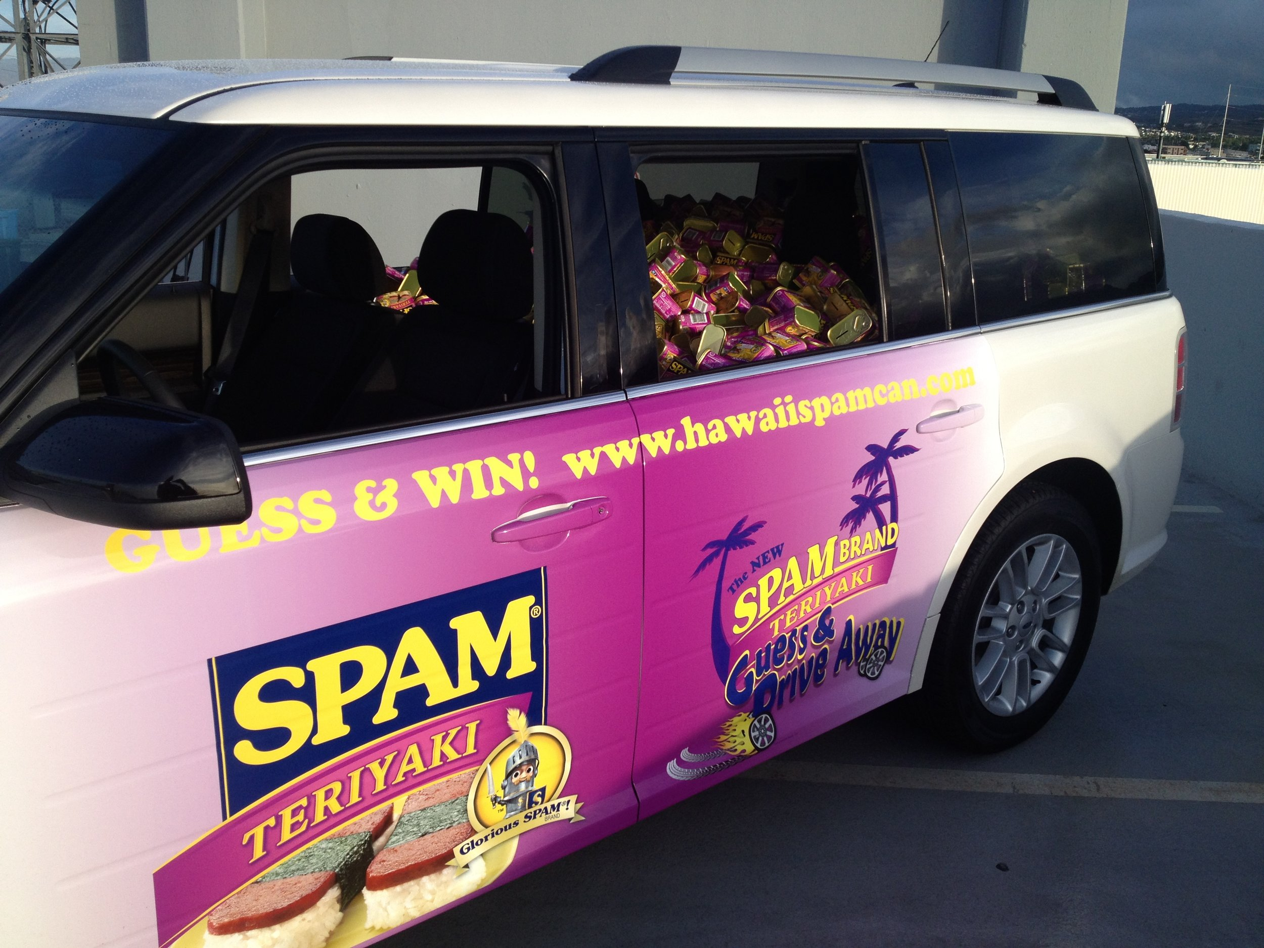 Spam Car Marketing