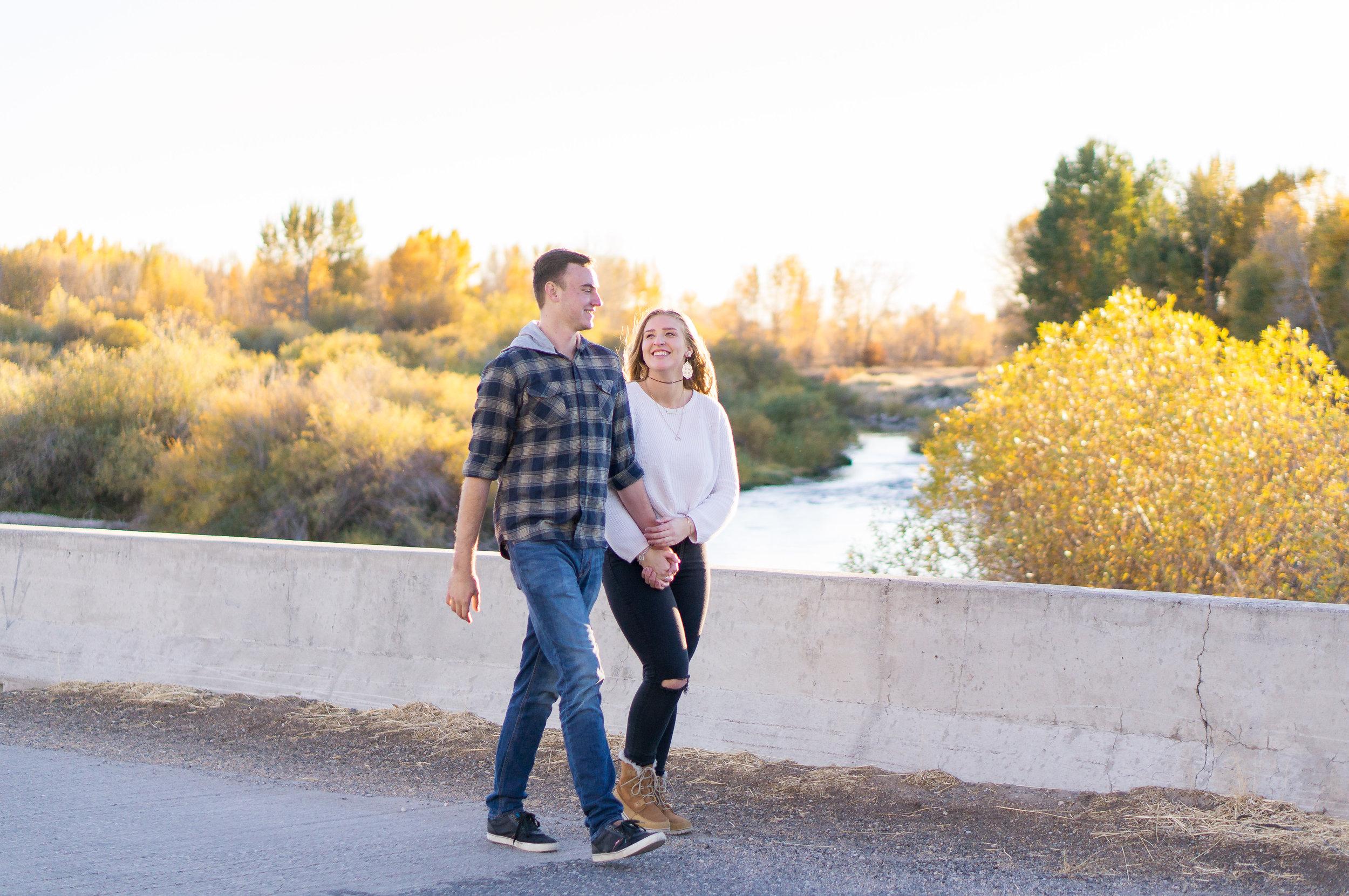 Sabrina and Kyle Rexburg Idaho Portrait