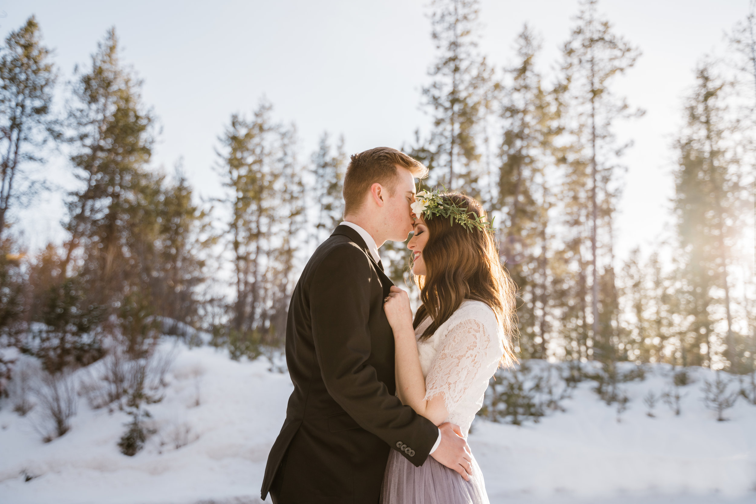 Marissa and Joshua Idaho Engagement Photographer Christine Madeux Photographer