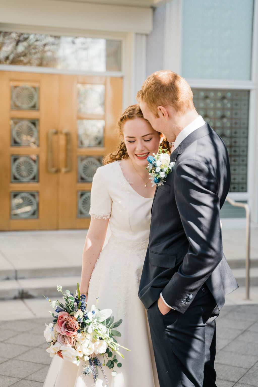 Eleanor and Zach Mt. Timpanogos Wedding Christine Madeux Photography Utah Wedding Photographer