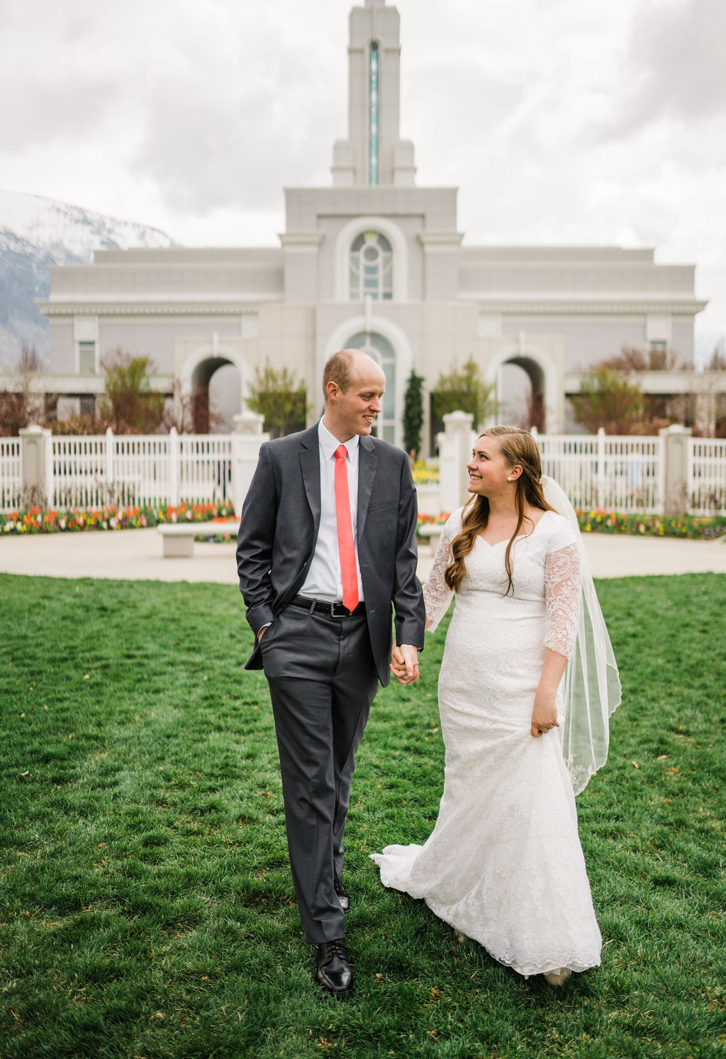 Leah and Spencer Mount Timpanogos Wedding Christine Madeux Photography Rexburg Idaho Photographer