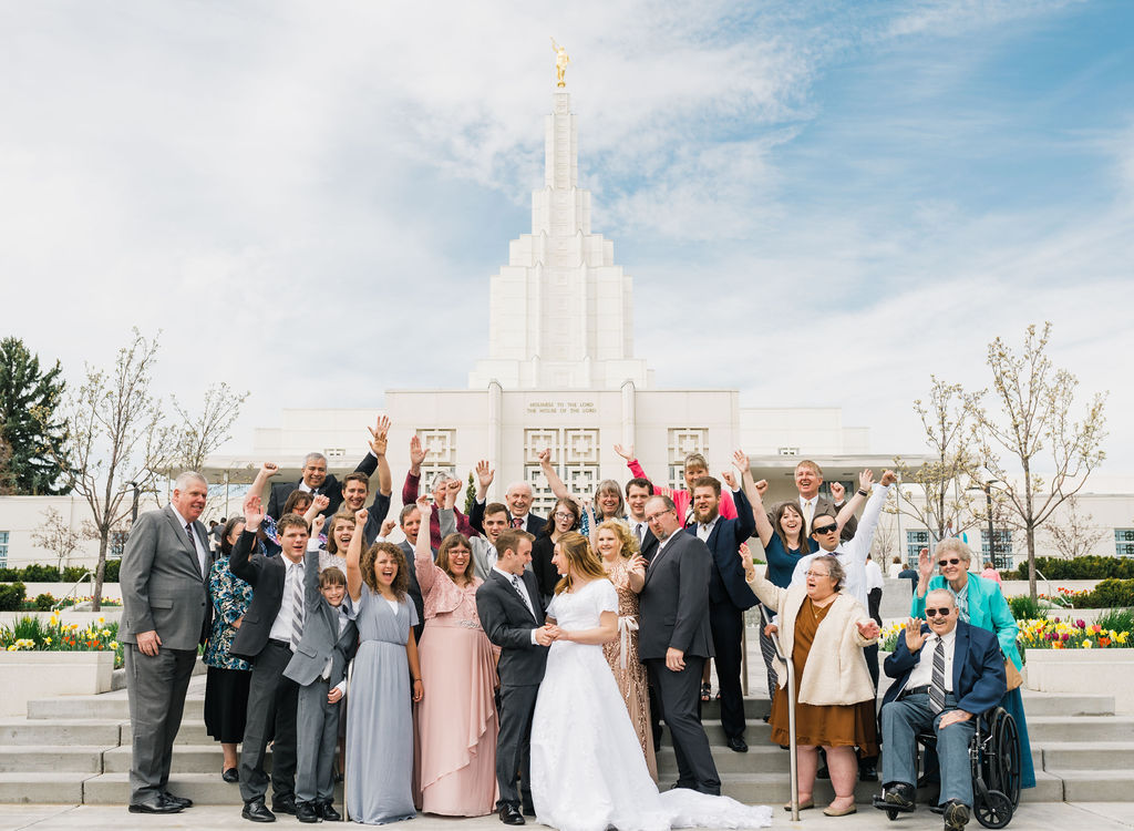 Russel and Shaylee Idaho Falls Wedding  Christine Madeux Photography Rexburg Idaho Photographer