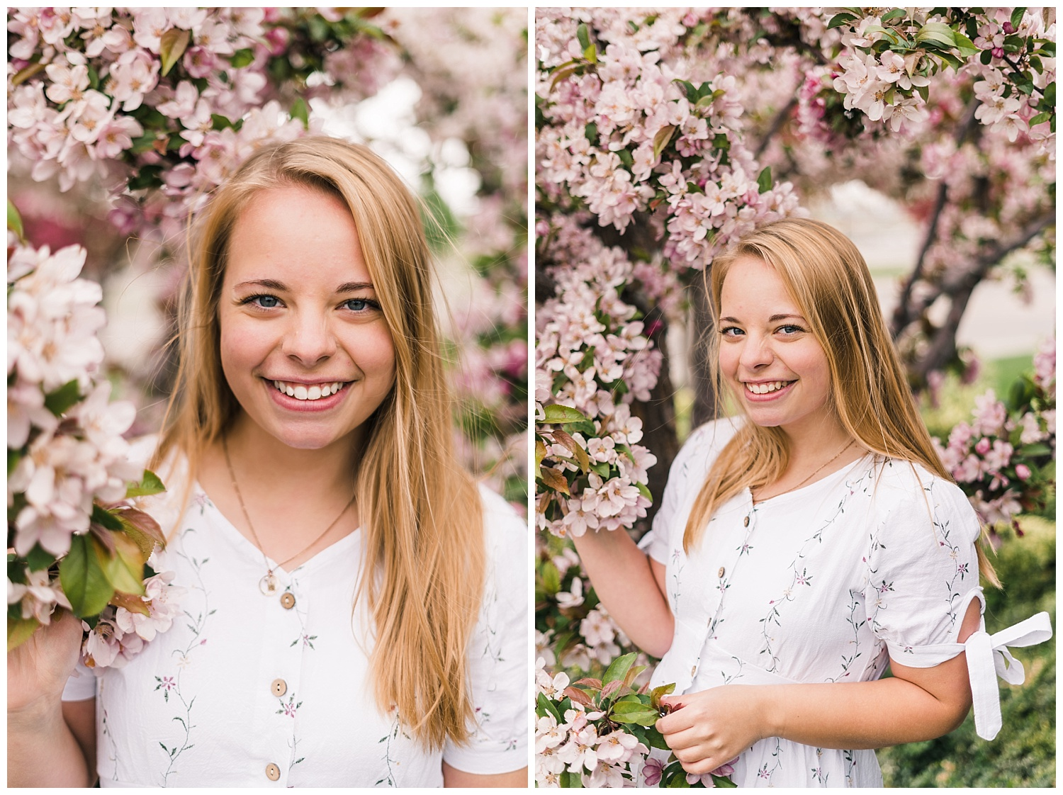 Women's Spring Portrait Session Idaho Portrait Photographer Rexburg Idaho