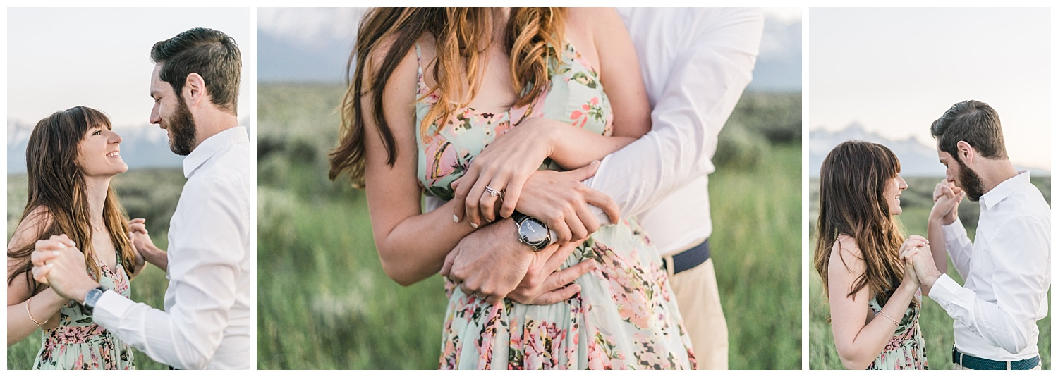 Intimate and Wild Grand Teton National Park Anniversary Session