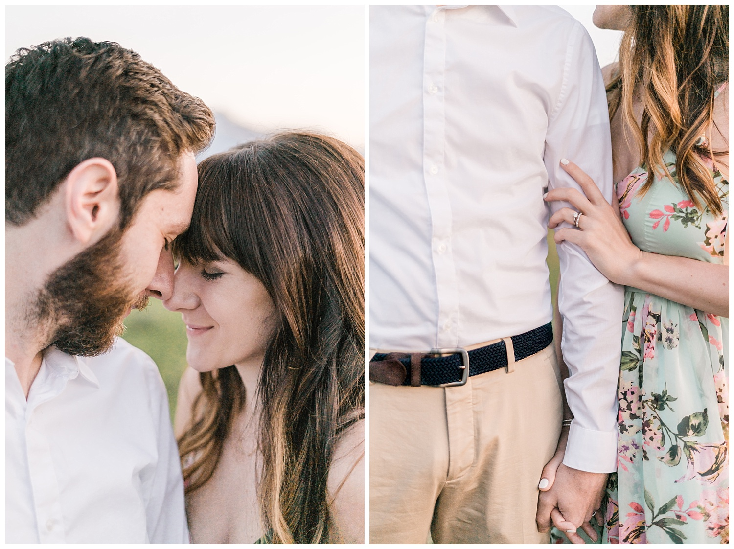 Warm and Golden Grand Teton National Park couples session