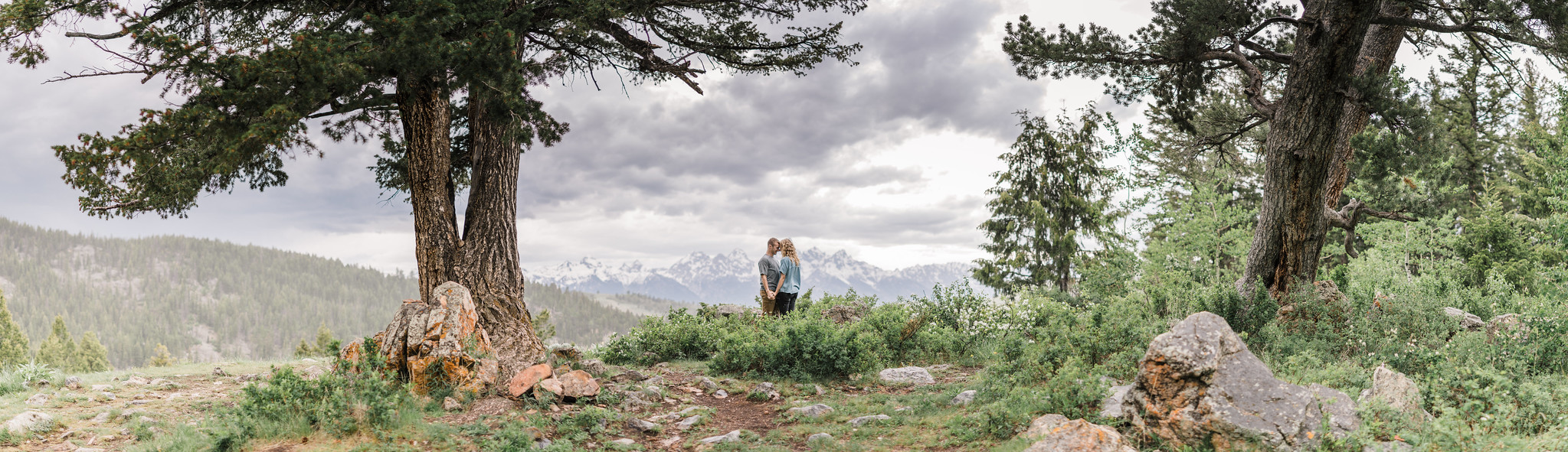 Intimate Grand Teton National Park Summer Engagement Session
