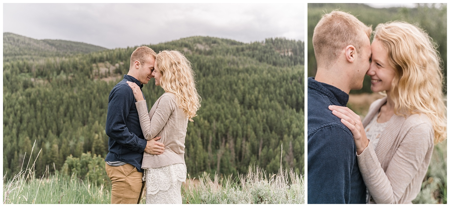 Wild and Soulful Grand Teton National Park Engagement Session