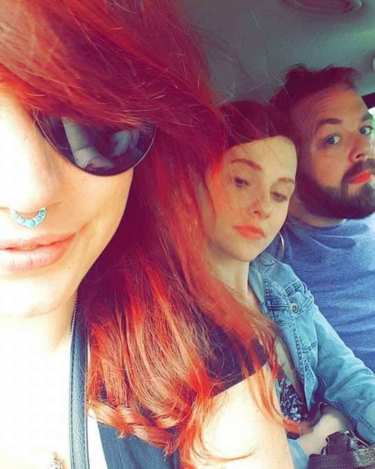 "Grace (left), Holly & I - aka ""The Squad,"" summer 2016."