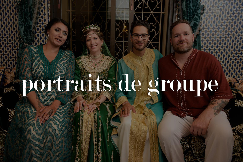 Portraits de groupe pendant un mariage marocain.jpg