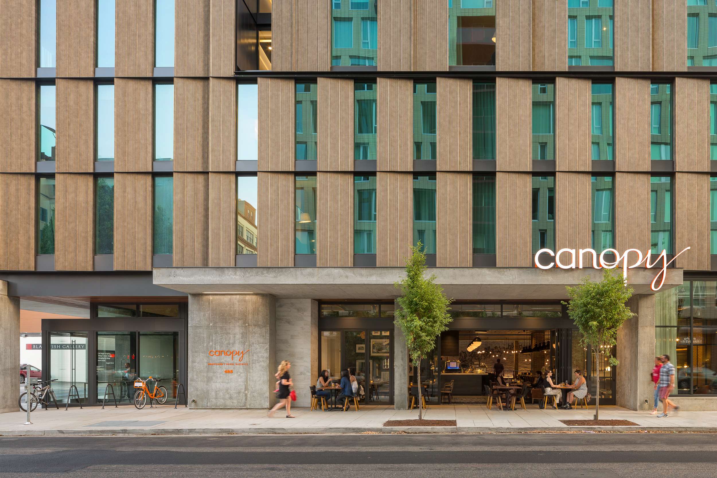 Canopy Hotel / ZGF Architects