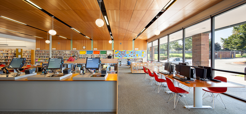 Troutdale, North Portland, + Belmont Libraries / Hennebery Eddy Architects