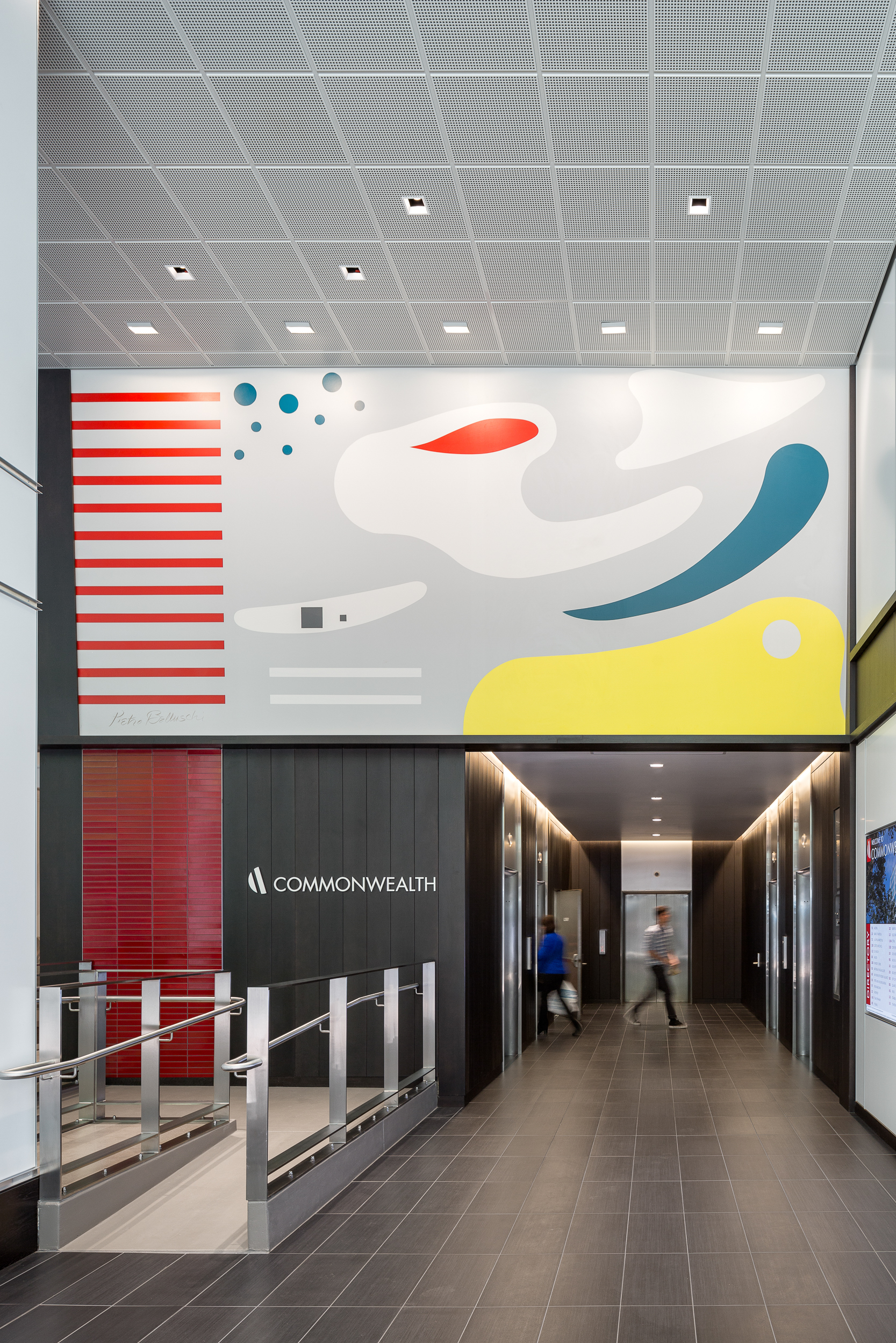 Commonwealth Building, Lobby / ZGF Architects