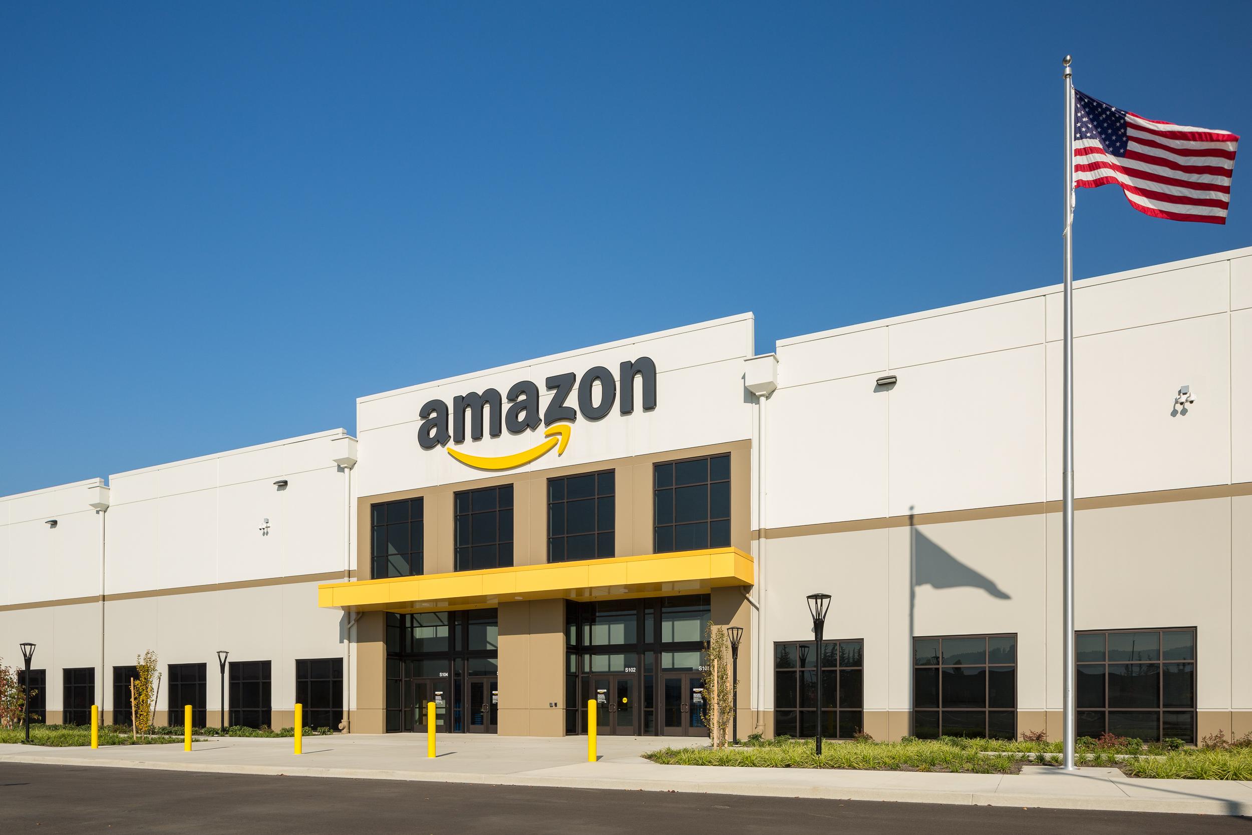 Amazon warehouse, North Portland / Skanska