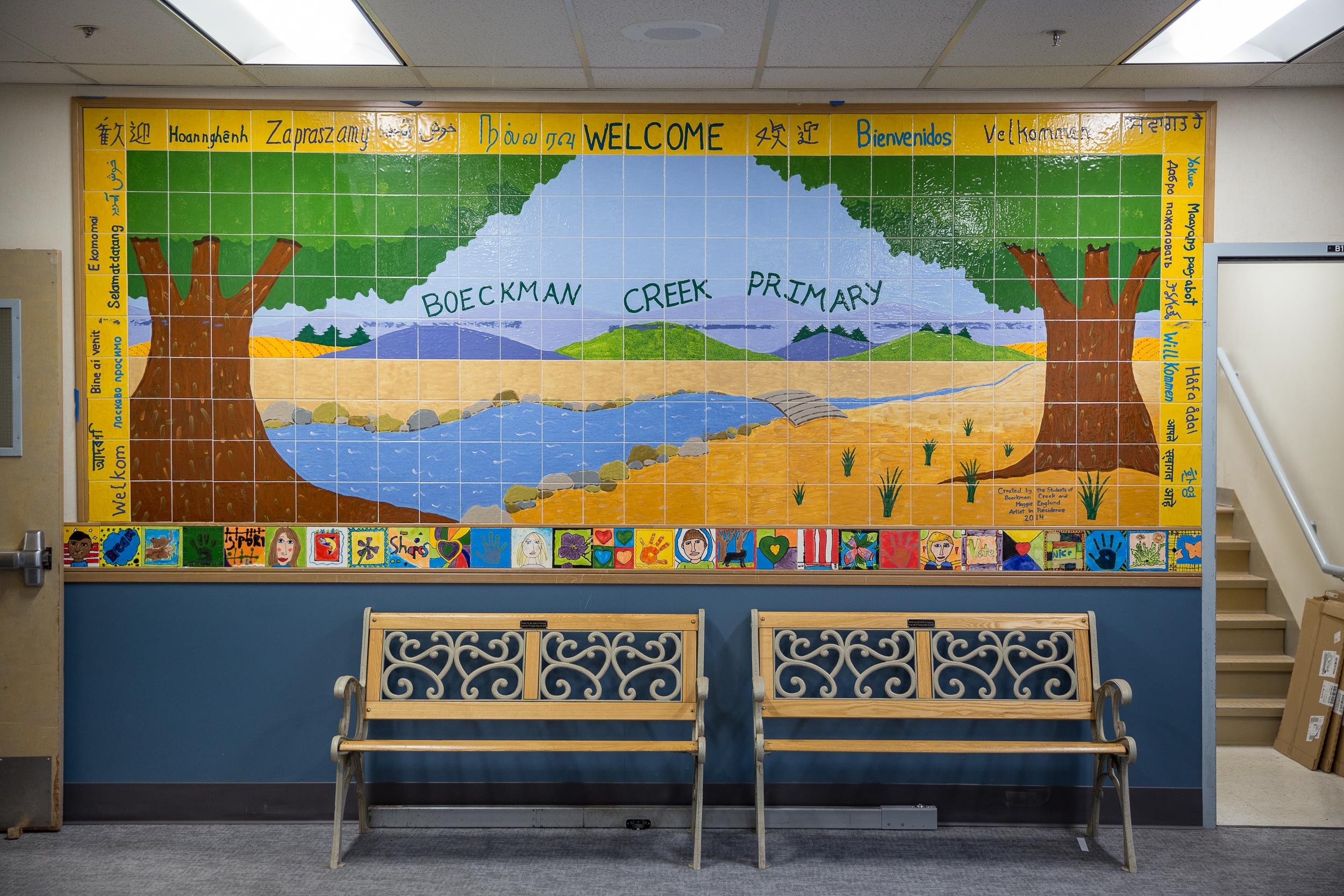 WLWSD, Art in Schools / for DOWA-IBI Group