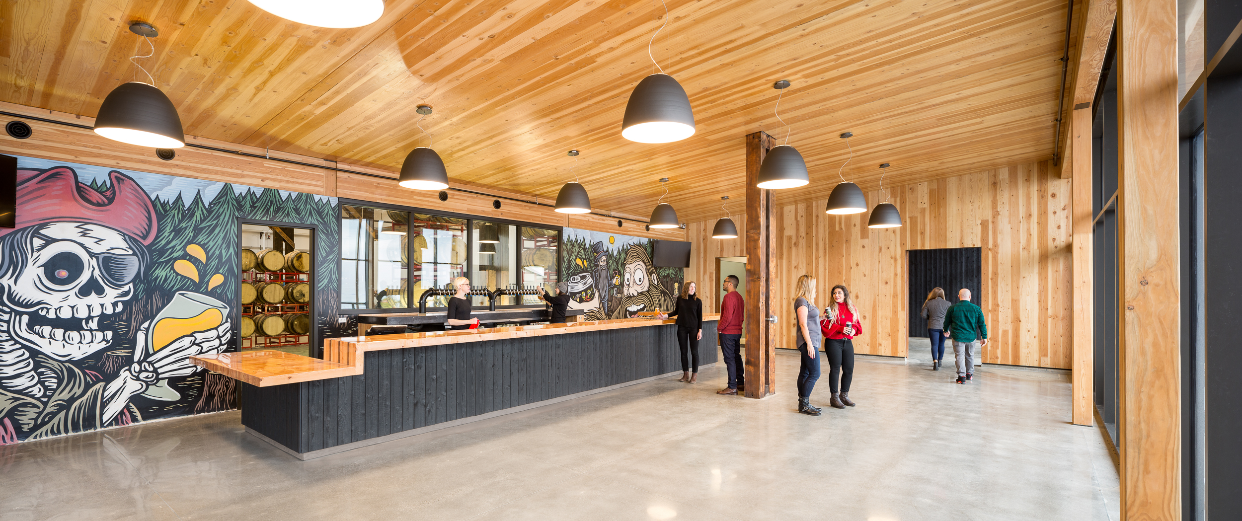 Great Notion Brewing, NW Portland / ZGF Architects