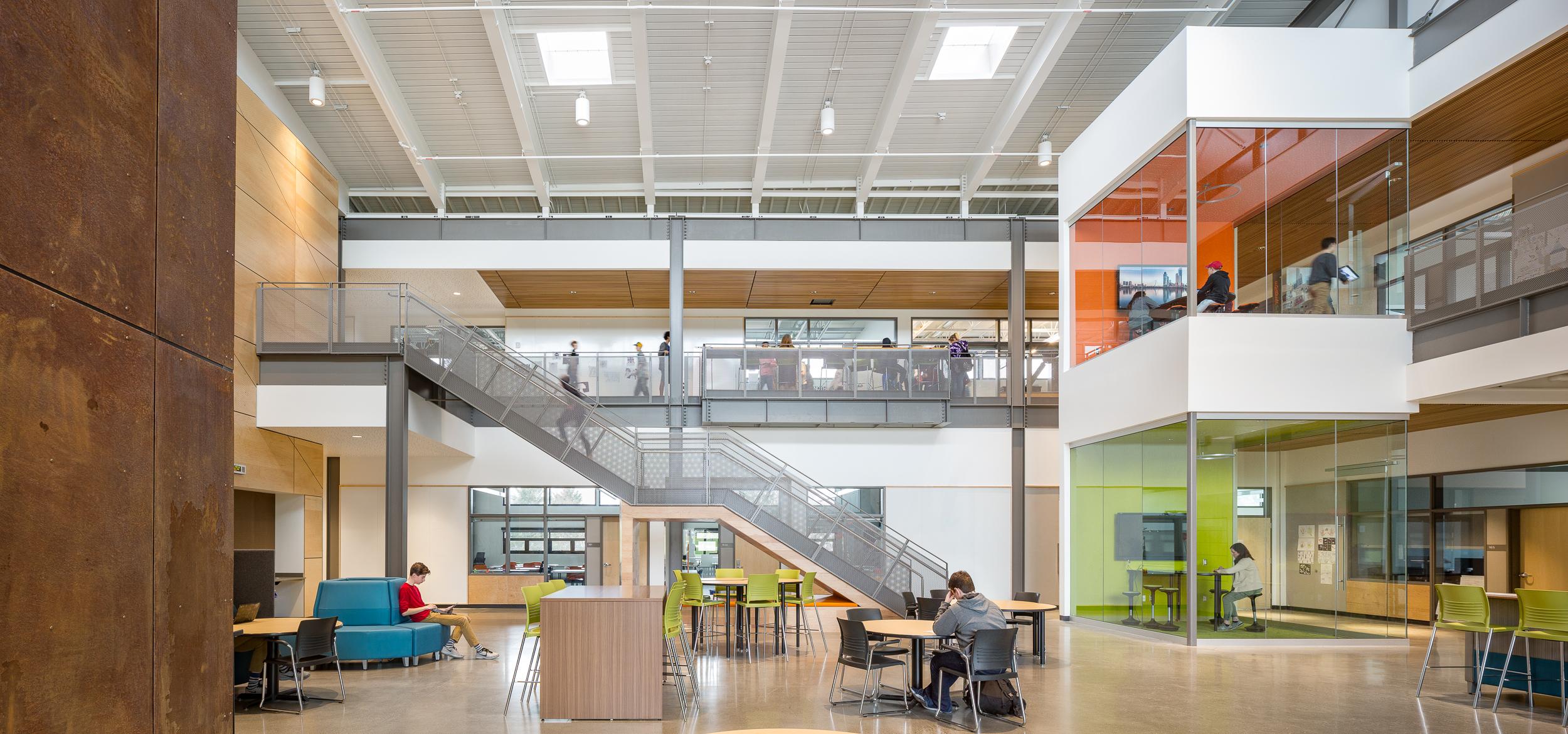 Camas Discovery High School / DLR Group
