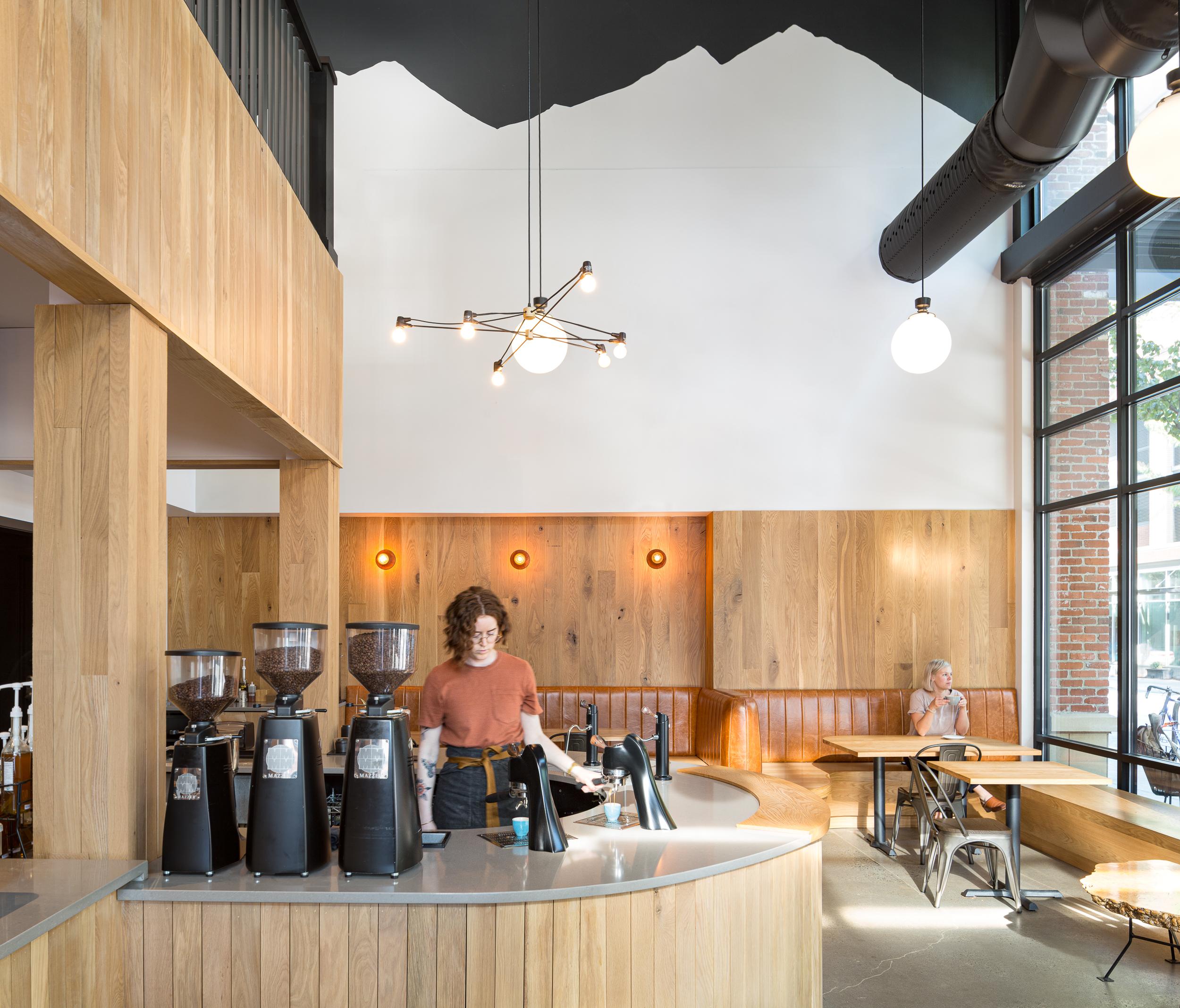 Sisters Coffee, NW Portland, OR / Guggenheim Architecture + Design Studio