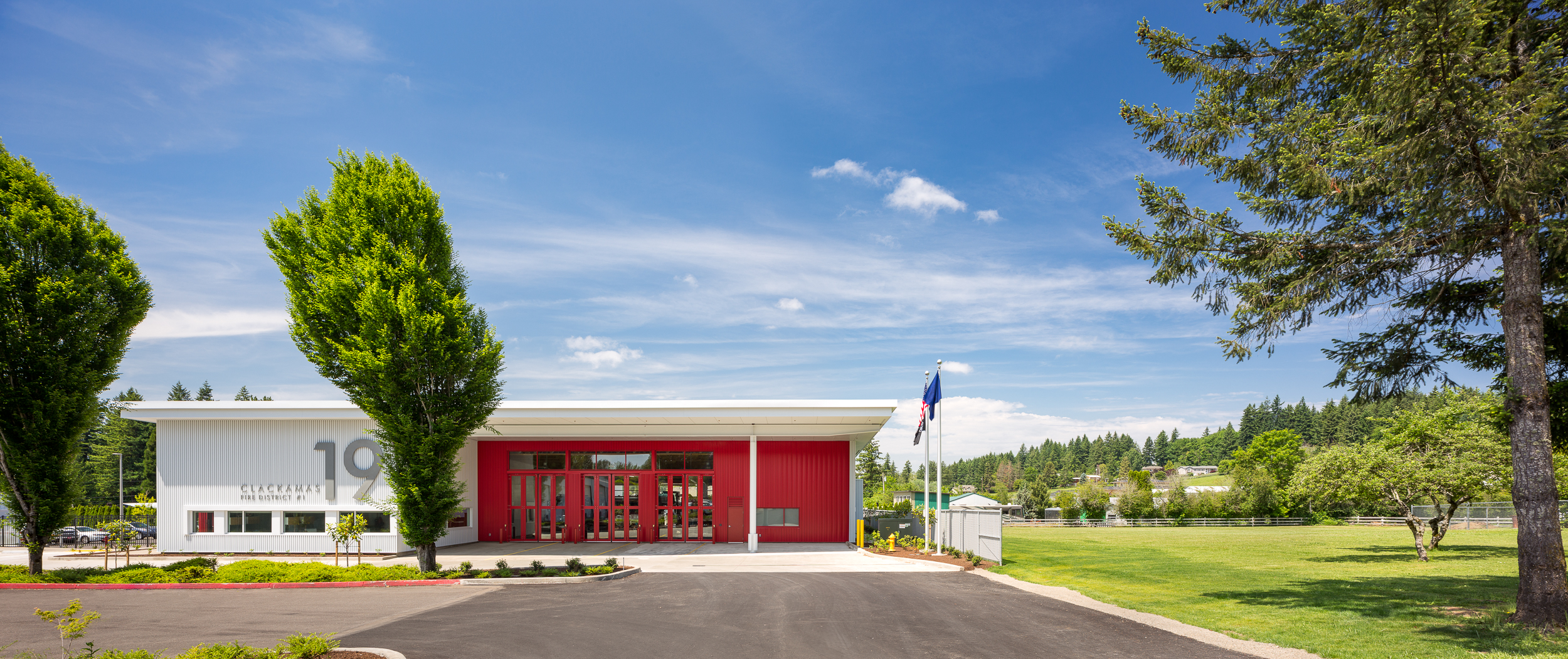 Clackamas Fire District, Station 19 / Hennebery Eddy Architects