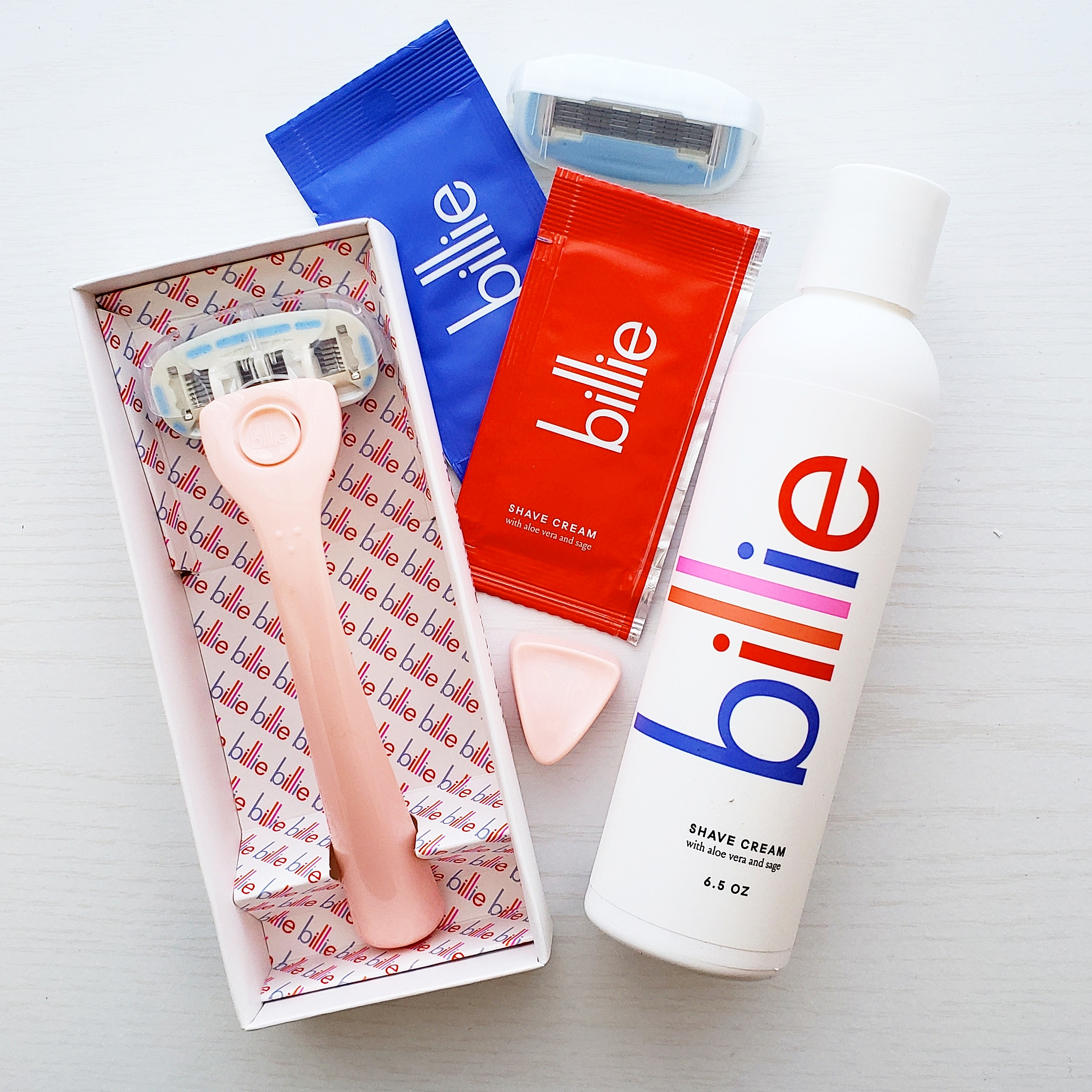 Billie Razors on Candid Christine New Beauty Faves