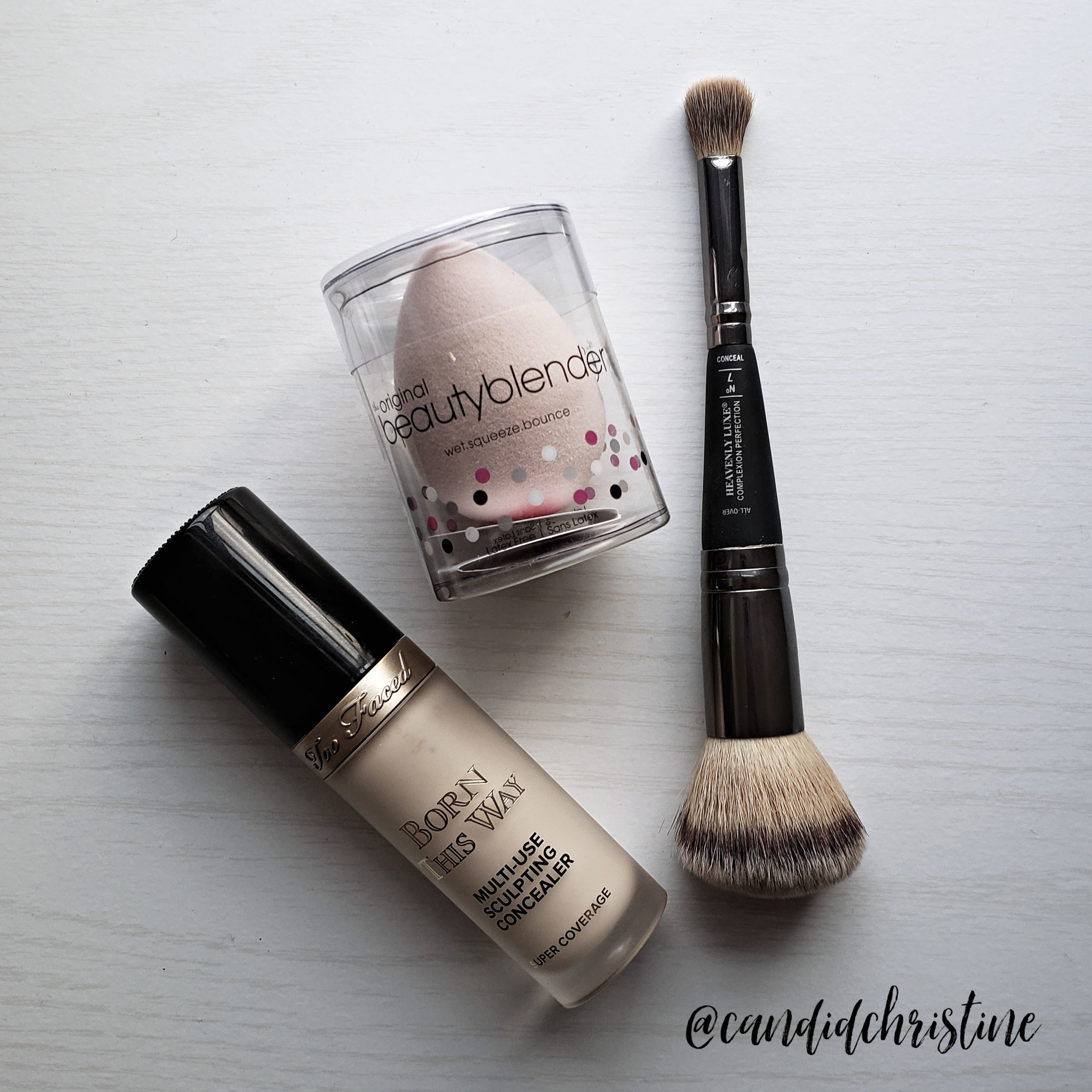 Born this way on Candid Christine Beauty Faves