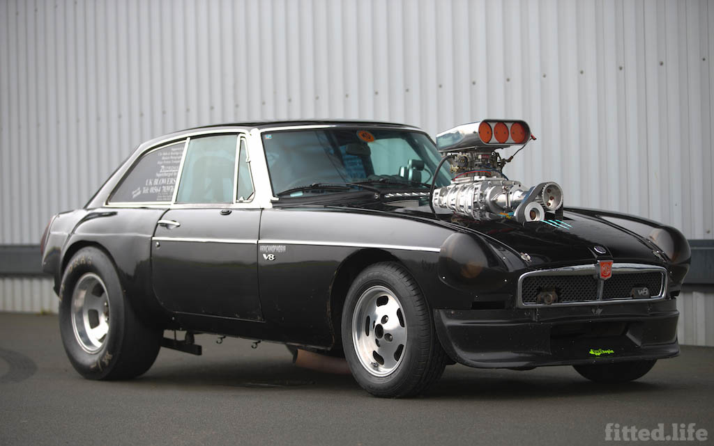 MGB Dragster Living Life One Quarter Mile At A Time (5)