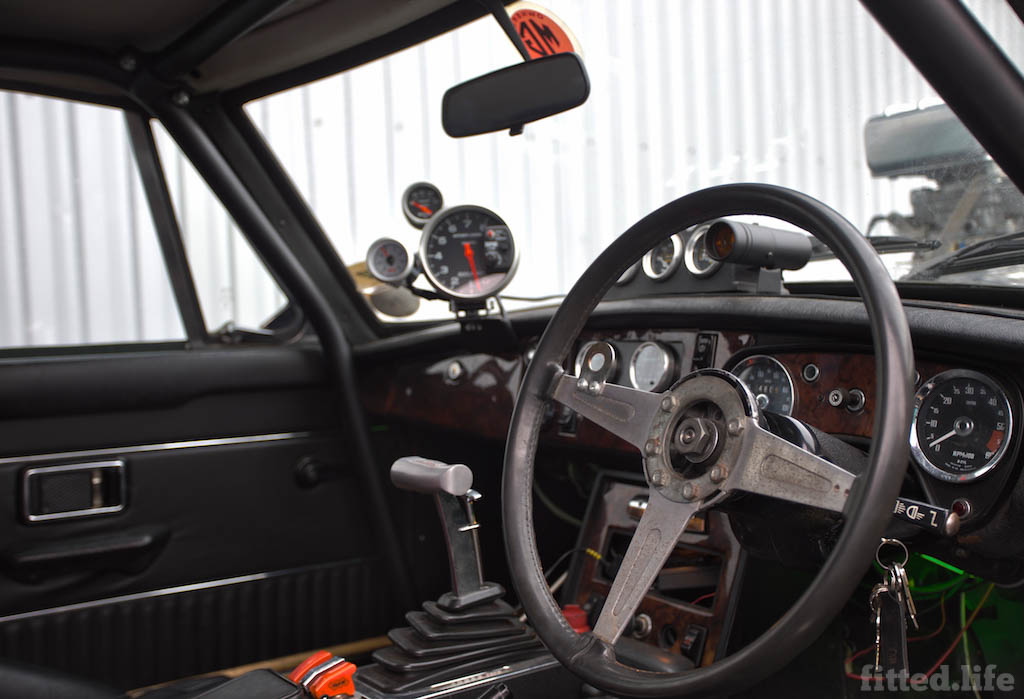 MGB Dragster Living Life One Quarter Mile At A Time (6)