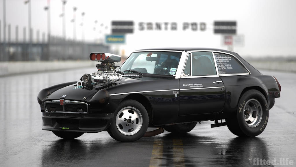 MGB Dragster Living Life One Quarter Mile At A Time (8)
