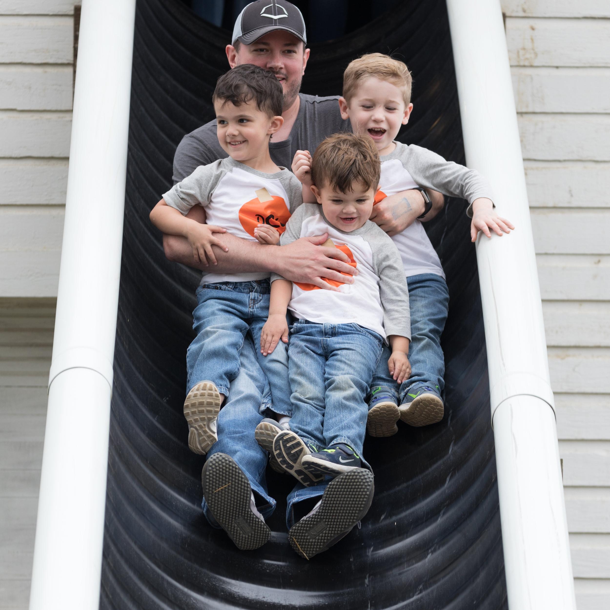 Giant Slides McDonald Farm Tennessee