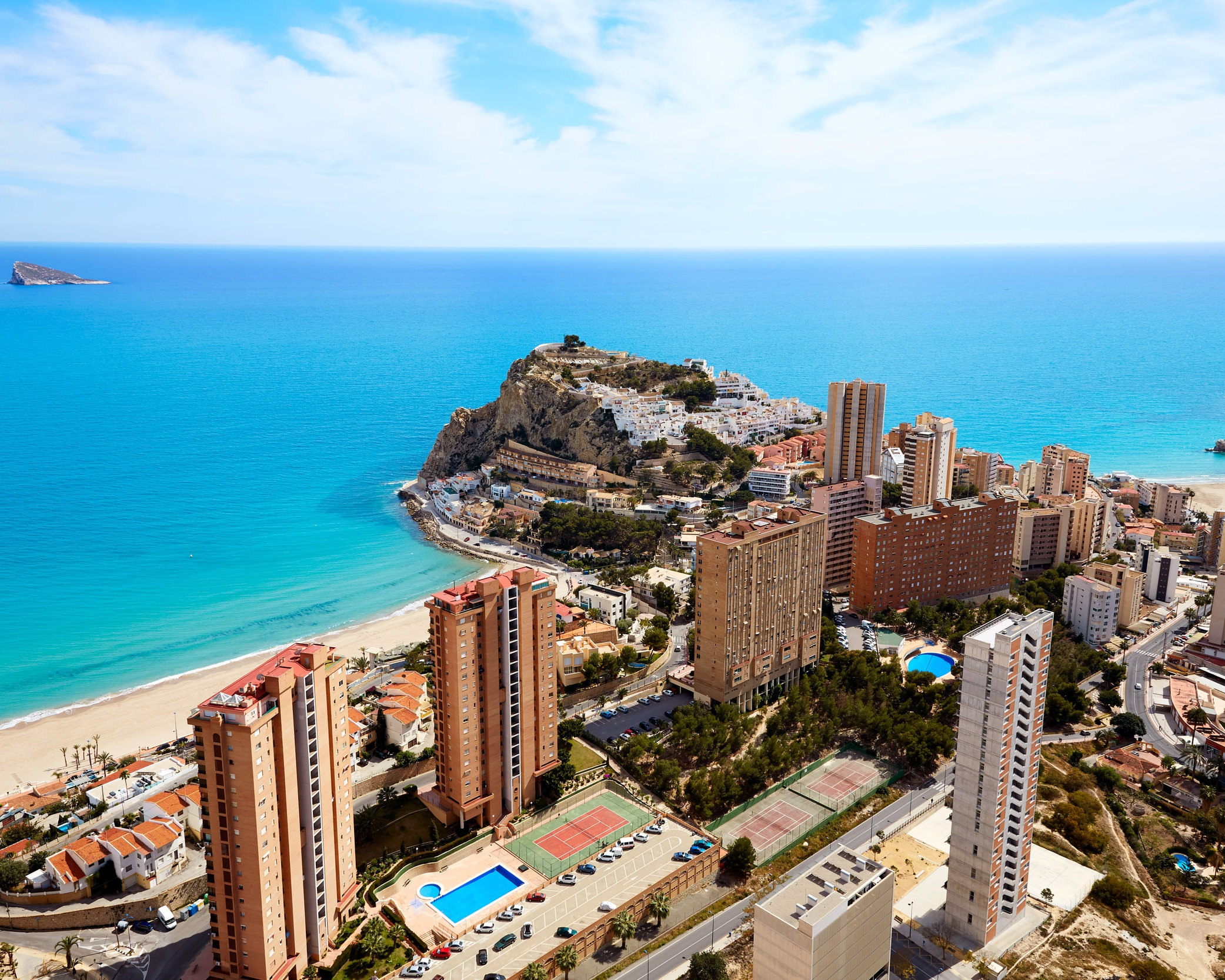 NO. 3 - BENIDORM - The three best neighbourhoods:• Barrio de Rincon de Loix• Barrio de Old Town• Urbanización Las Lomas
