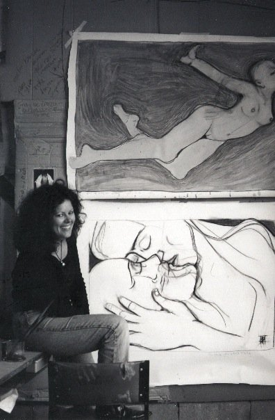 in my first studio 1999