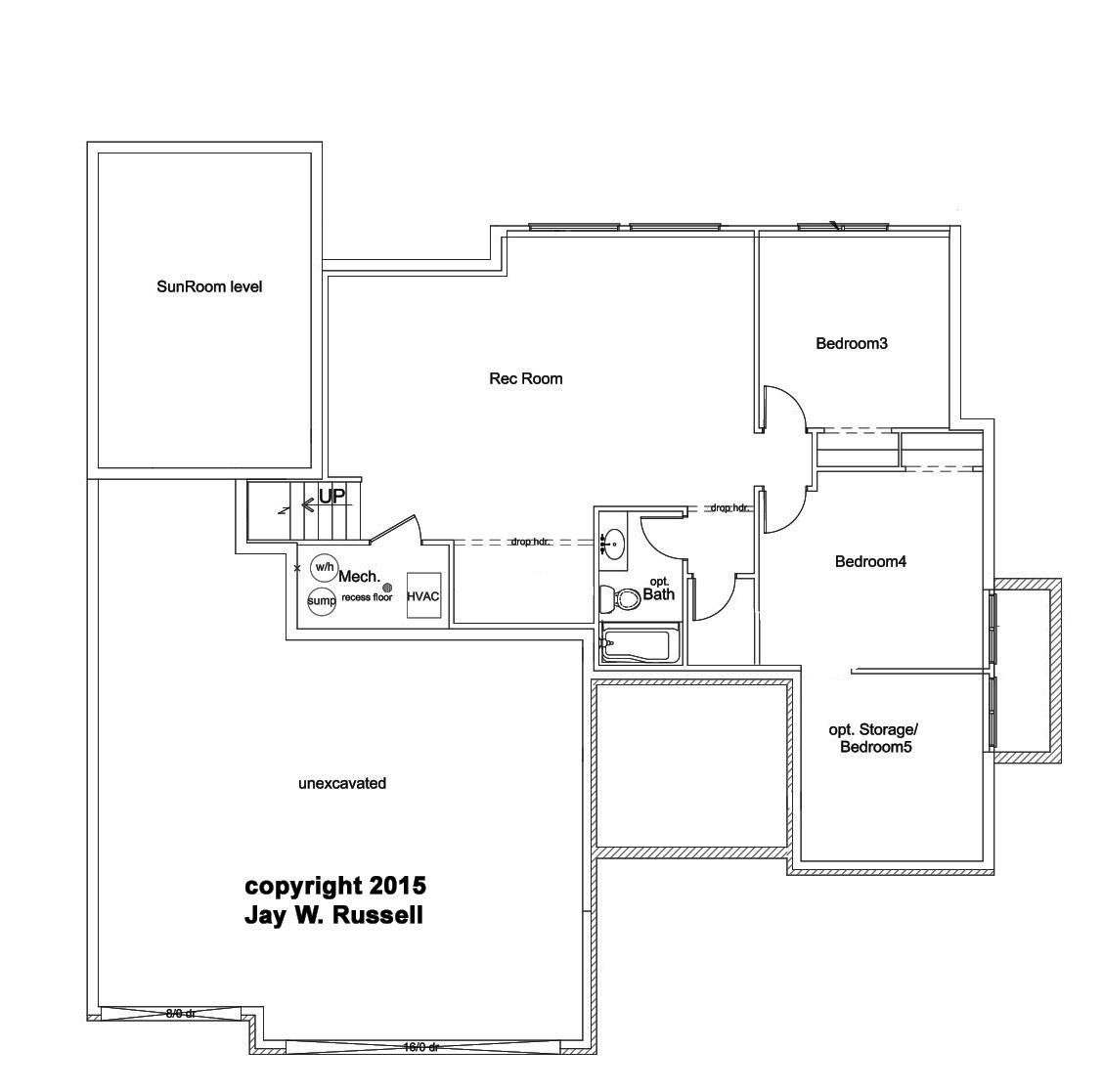 Ellington BSMT 1 by JL Russell Construction