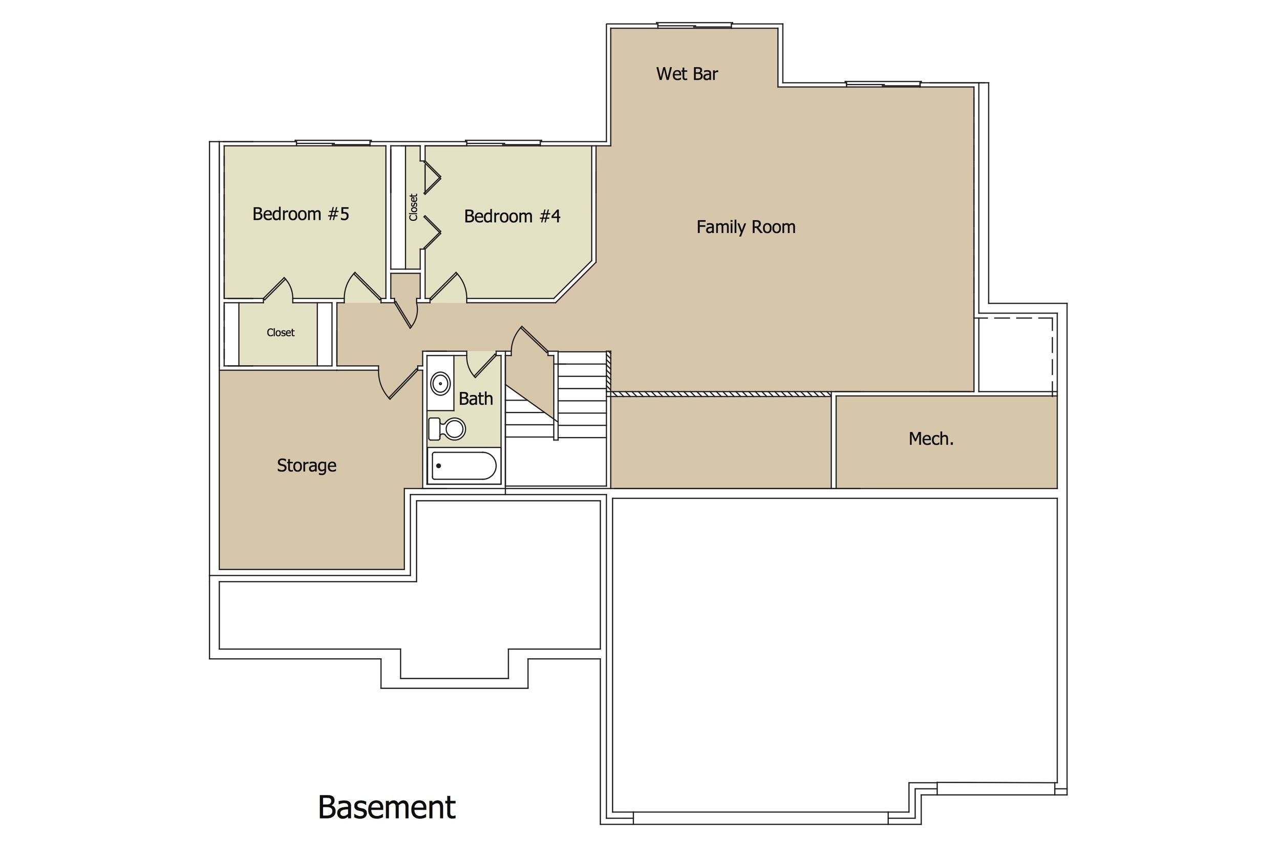 Aspen Plan BSMT by Paul Gray Homes