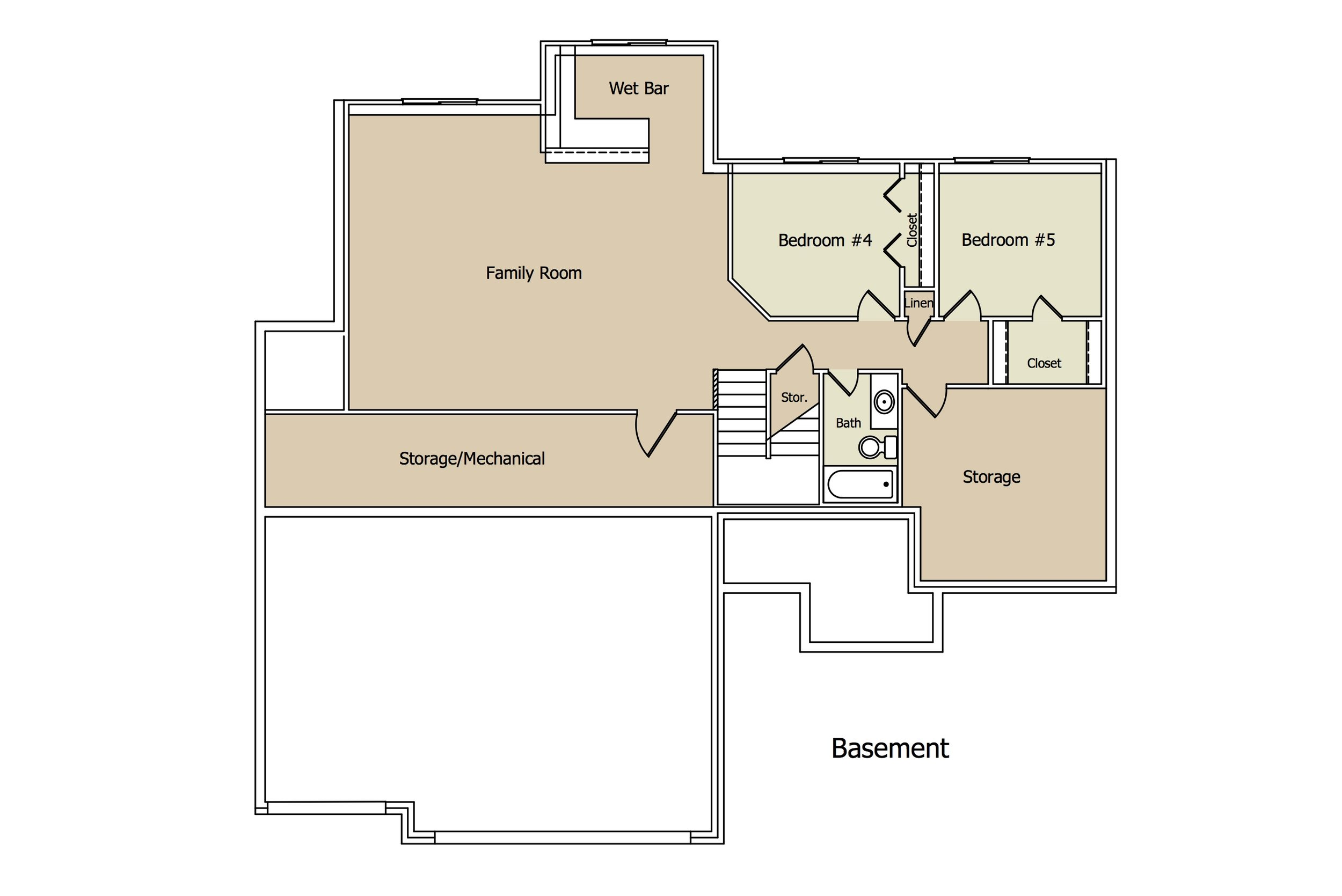 Capri Plan BSMT by Paul Gray Homes