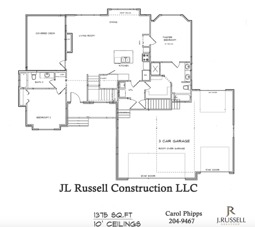 The Personal with Bonus Room by JL Russell Construction