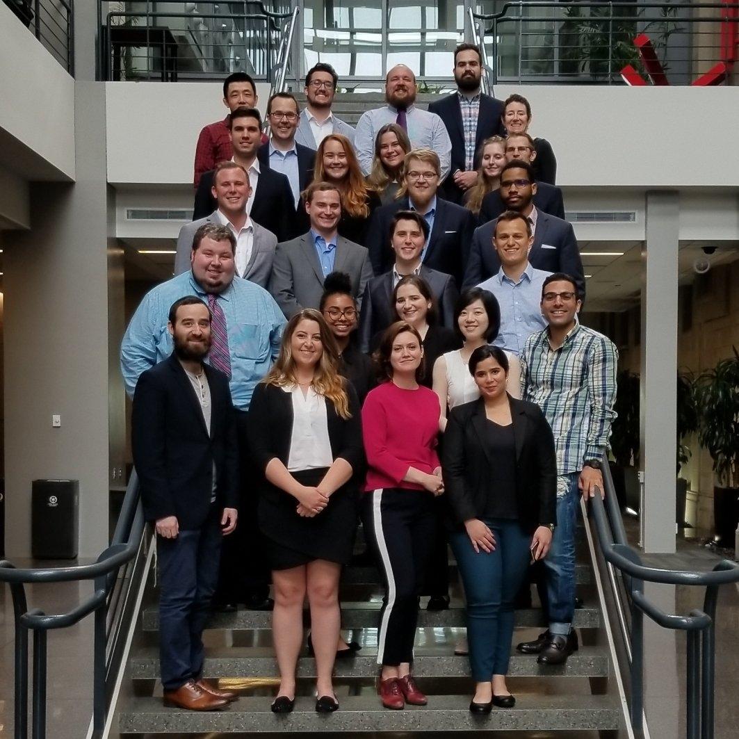 IFLP's inaugural class, May 2018.