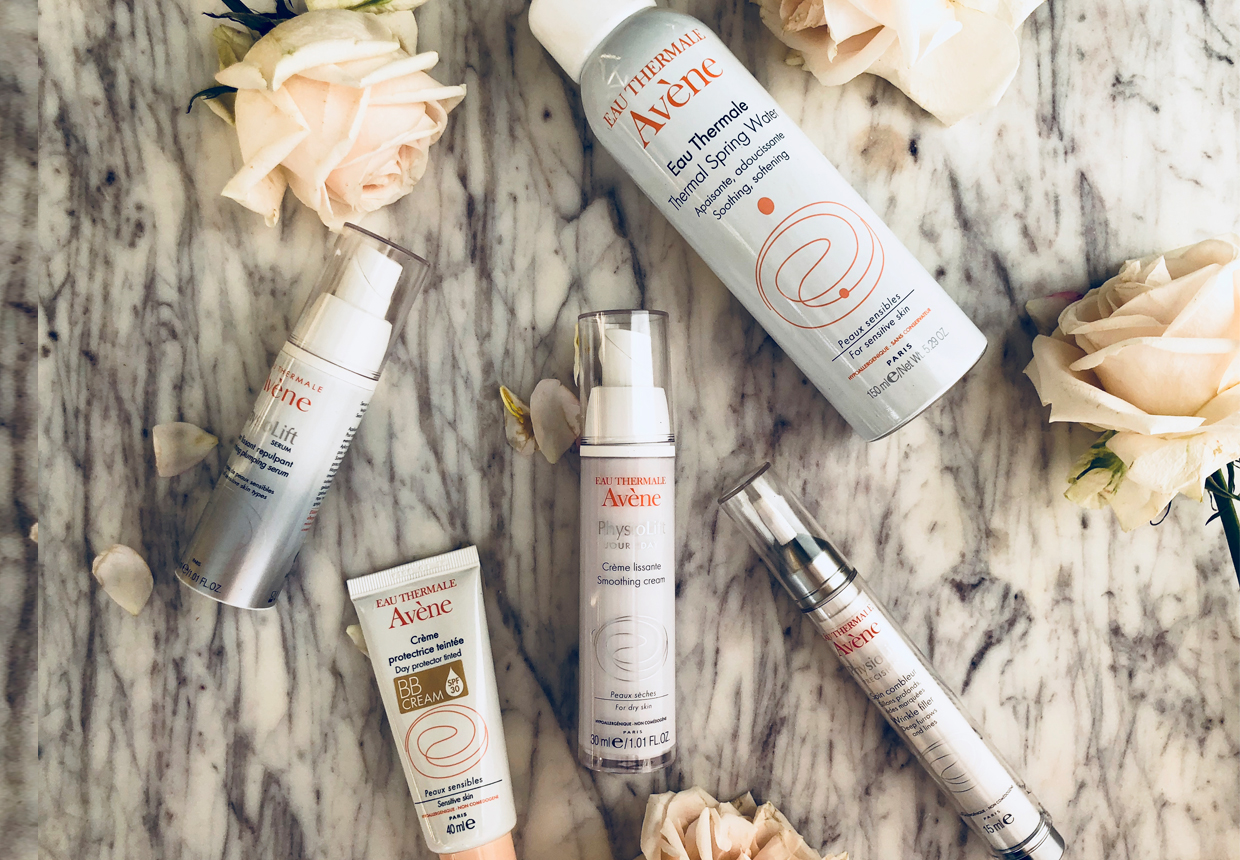 CLICK TO BUY:   Avène Physiolift Smoothing Day Cream, $68.95 ;  Avène Physiolift Wrinkle Filler, $69.95 ;  Avène   Physiolift Serum, $69.95 ; Avène Day Protector Tinted BB Cream SPF 30 , $26.95;  Avène Thermale Spring Water 300ml, $25.95 (300ml)