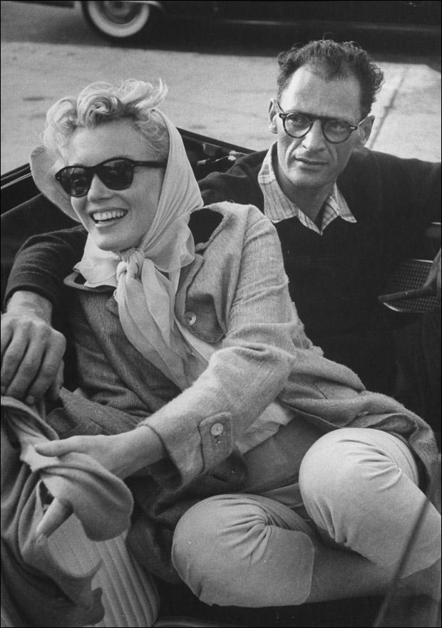 Marilyn Monroe & Arthur Miller (1956)