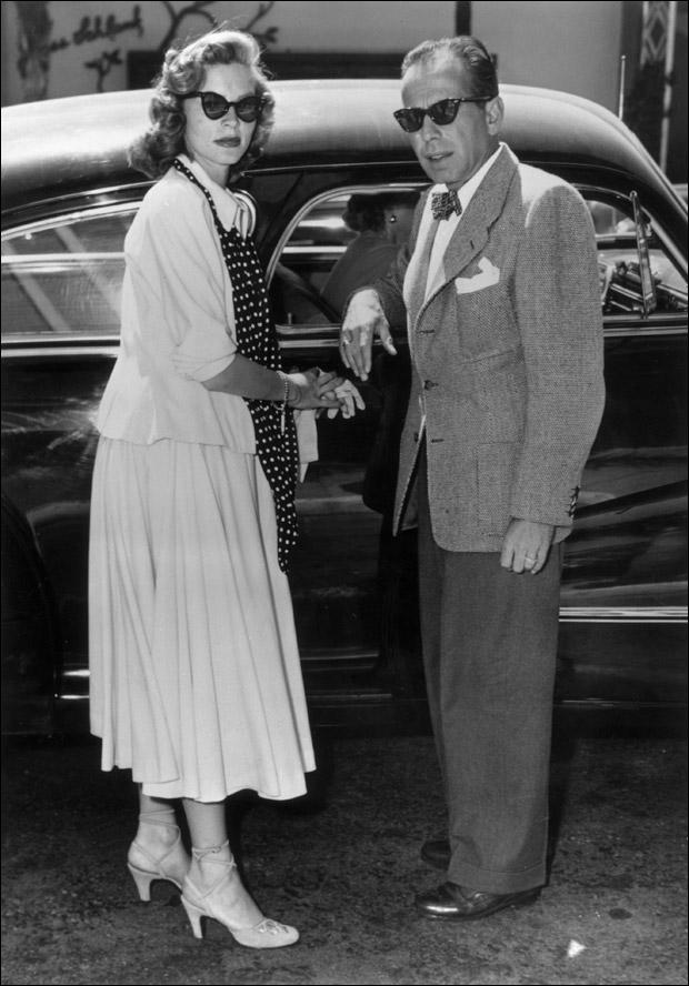 Lauren Bacall & Humphrey Bogart (1944)