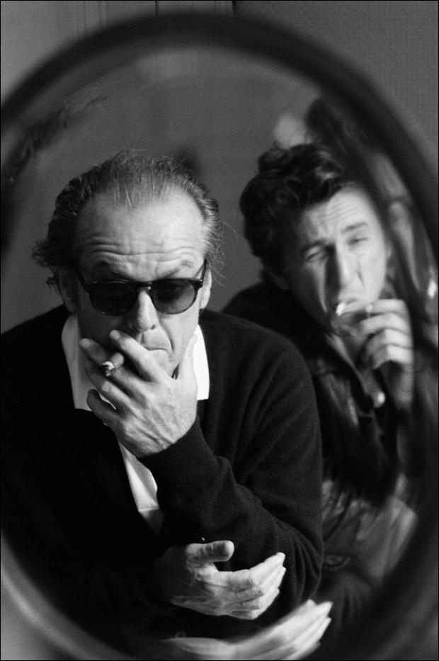 Jack Nicholson & Sean Penn (1995)