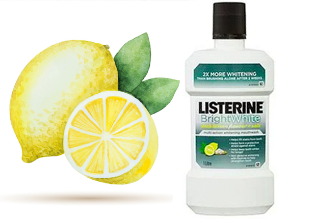 GooD to KNow… - Listerine Bright White helps to eliminate bacteria that brushing leaves behind in your mouth. Including those on the tongue, mouth walls, gum lines and spaces in between teeth that are hard to reach with just a toothbrush.CLICK TO BUY: Listerine Bright White, $8.50