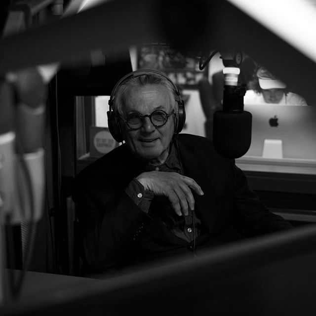 The solo episode with George Miller is now available! Have a listen to a bunch of content that didn't make the edit in Episode 1; George talks about the history of sound in film, how the composers he's worked with have influenced him, cutting the sound of Mad Max 1 until the early hours of the morning, and what the world could learn from the Kiwi film industry.  Available on Apple podcasts, Spotify and all podcast streaming services. Pics by @julianpertout  #georgemiller #sounddesign #madmax #furyroad #soundediting #soundpodcast #australianpodcast #podcastinterview #directing #filmmaking #filmmaker #director #films #actionmovies #screensound #screenaustralia #australianfilm
