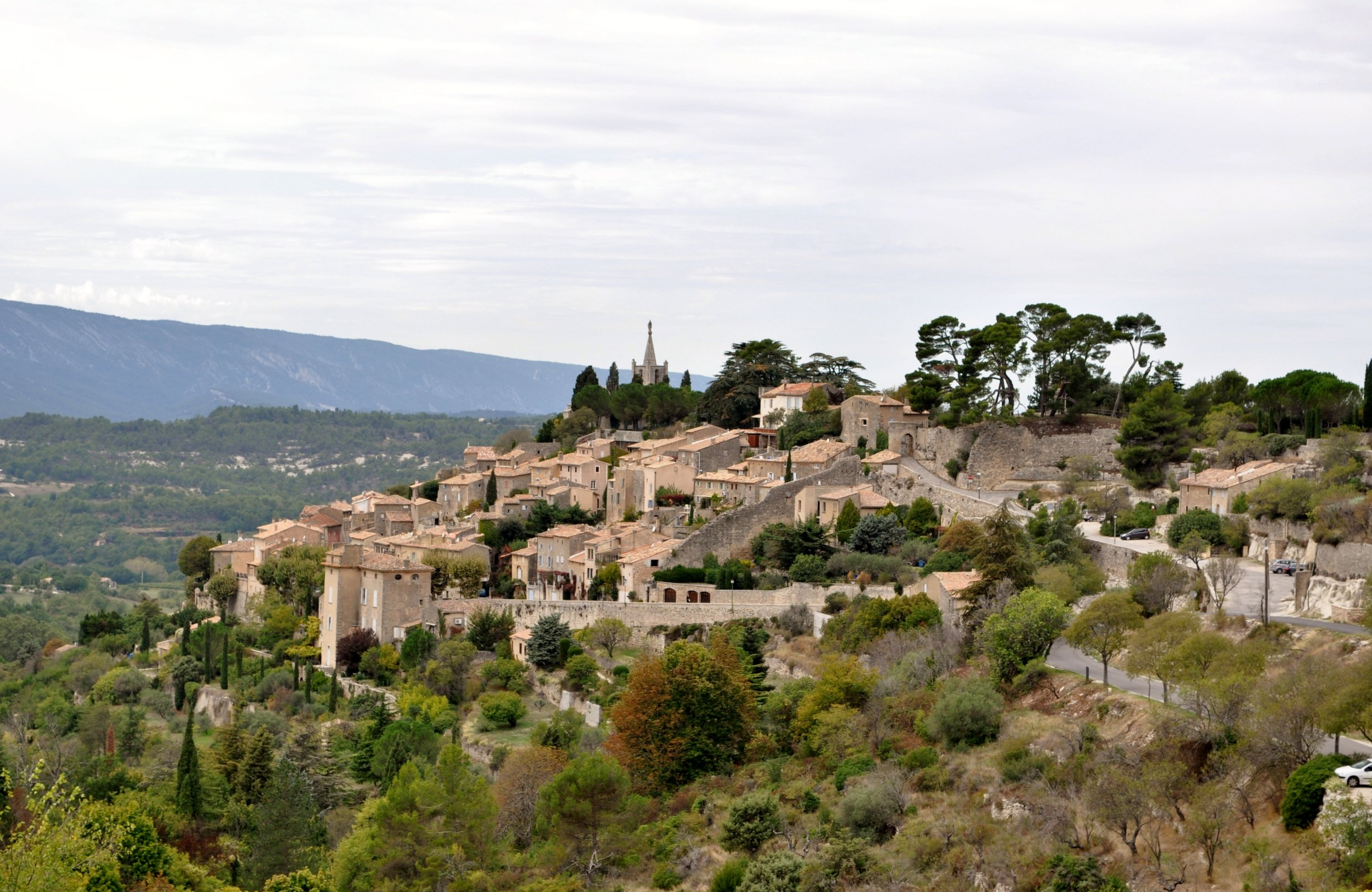 Bonnieux, village of the Luberon