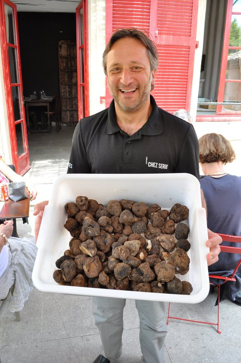 The self-proclaimed 'Truffle King' of Carpentras, Serge Gaoukassian of Chez Serge