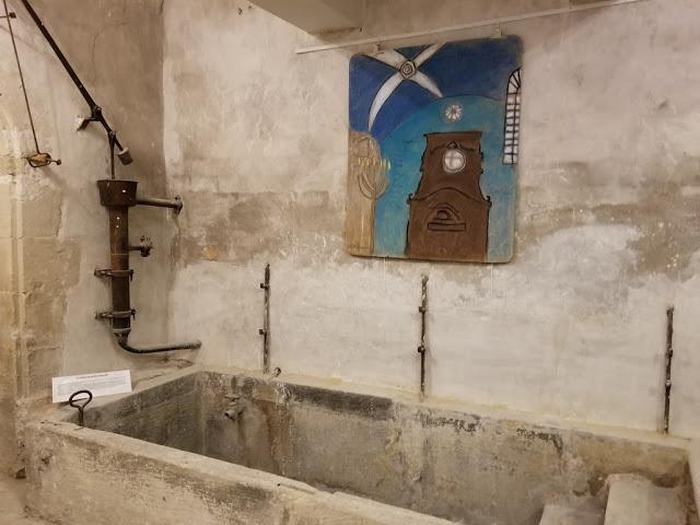 First ritual bath (Mikvah)
