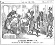 Sydney Punch Mar. 30, 1867 p.144