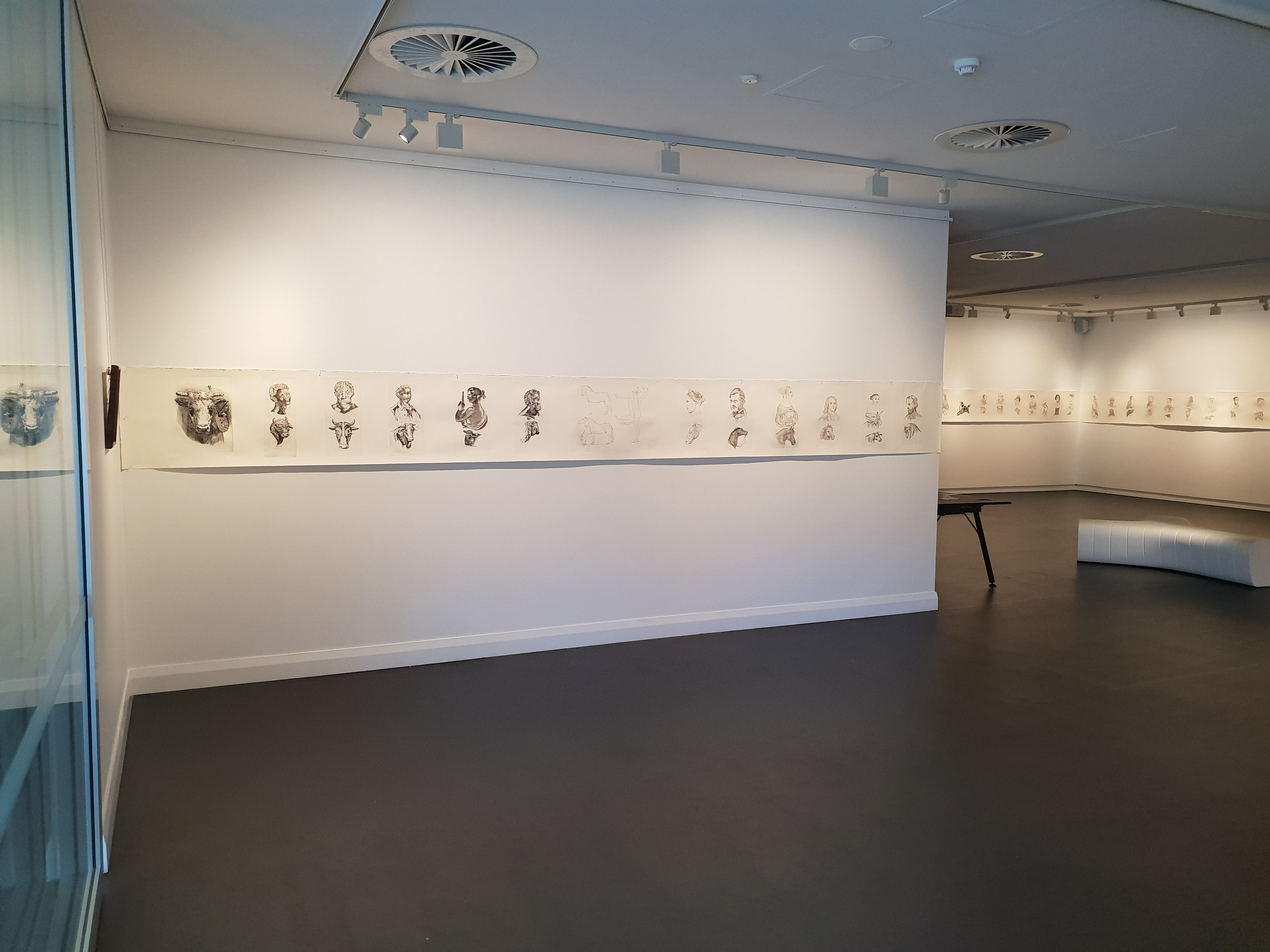 Gallery 25, left entry wall
