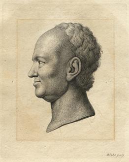 Figure 4 William Blake, Spalding, engraving [original image 9.6 x 6.3cm - plate 13.2 x 10.1cm] Hunter Lavater Vol. 1, 1789 225.