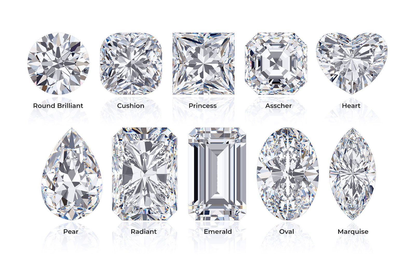 TJH Diamond Shapes