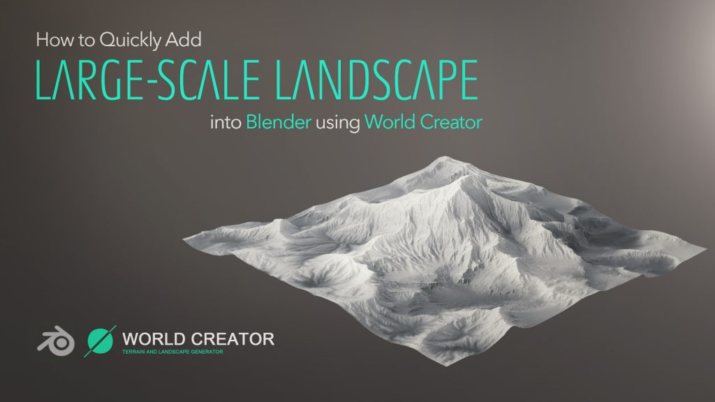 A quick introduction into a wonderful GPU-powered landscape generating tool called World Creator. Have a look if you want to create your own unique environments for your shots.
